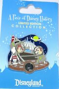 Le Disney Pin 91660 ✿chip Dale Piece Of Disney History Attraction Space Mountain