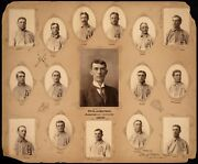 Hall Of Famer Connie Mack In This Team Photo From 1902 Phila Athletics 8x10