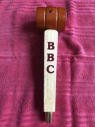 Bbc Beer Wooden Tap Handle Berkshire Brewing Company Wood Barrel, Gold Spike Ale