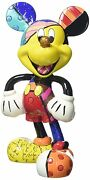 Enesco Disney By Britto Mickey Mouse Stone Resin Figurine From Japan F/s