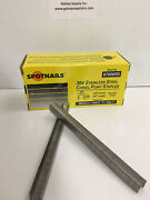 Spotnail 87006ss 71 Staples 3/8 Leg, 304 Stainless Steel, Sale By 20 Boxes .
