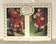 1993 Nostalgia Coca Cola Playing Cards Two Decks. New Unopened