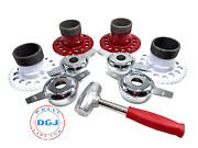 4 Universal Wire Wheel Adapters Lead Hammer And Zenith Cut Spinners