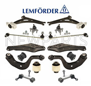 For Audi A3 Quattro Vw Golf Front And Rear Susp Repair Kit Control Arms Lemforder