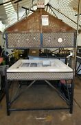 Architectural Details Electric Glass Forming Kiln Elevator Bartlett Control 5x5and039