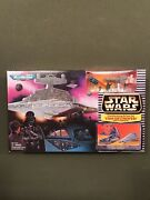 Star Wars Micro Machines Transforming Star Destroyer / Space Fortress Playset Ub