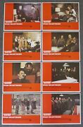 Set Of 8 1973 Movie Lobby Card Posters Hitler Last 10 Days Ww2 Film Alec Guiness