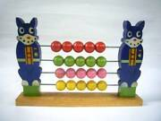 Vintage Norakuro Wooden Number Play Old Toy Suiho Tagawa From Japan F/s