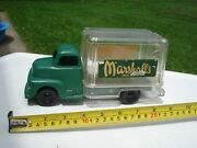 1950and039s Marx Marshalland039s Drug Store Delivery Van Truck Vintage Store Promotional