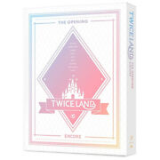 Twice Twicelandthe Opening [encore] Dvd 2disc+photo Book+10p Card+poster Sealed