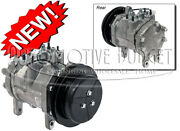 A/c Compressor W/clutch For Case/ih And John Deere Backhoes Combines And Tractors