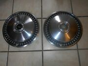 68-71 Vintage Ford Motor Company F150 Pickup 15 Hubcaps Set Of 2