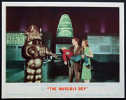 The Invisible Boy Robby The Robot Science Fiction 1957 Lobby Card 8