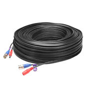 Loocam 200ft 300ft Video Cable Bnc Power Rg59 Cable Coaxial Cable For Camera Dvr