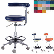 New Dental Assistant's Stool Nurse's Stool Chair Pu Leather Qy500n 18 Colors