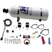 Nitrous Express 20919-15 Universal Fly By Wire Single Nozzle System 15lb Bottle