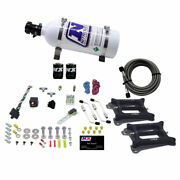 Nitrous Express 50240-05 Dual Holley/gasoline 100-200-300-400-500hp With 5lb B