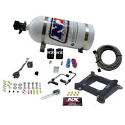 Nitrous Express 60040-10 4150 Gemini Stage 6 50-100-150-200-250-300hp With 10l