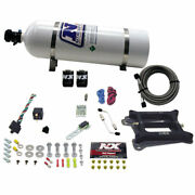 Nitrous Express 30040-15 4150 4-bbl/gasoline 50-100-150-200-250-300hp With 15l