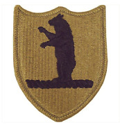 Vanguard Army Patch Missouri National Guard - Embroidered On Ocp