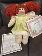 1978 The Little People Collection Hand Signed W/original Papers Cabbage Patch