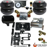 B Chassistech Tow Kit Ford F250 F350 2005-2010 100 Compressor And Manual Valve
