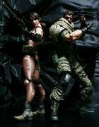 Play Arts Kai Metal Gear Solid V The Phantom Pain Snake And Quiet Figure Set F/s
