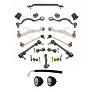 Custom Complete Control Arm Kit W/ 2 Engine Mounts And Power Steering Hose