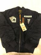 Limited Breitling Honor Poker Card Jacket Navy Large By Alpha Industries Rareandnbsp
