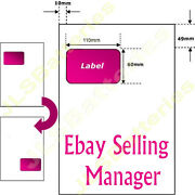 A4 Ebay Invoice Address Labels Paper Intergrated Smp Packaging 110mm X 60mm