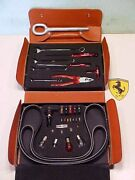 Ferrari 360 Tool Kit_leather Brief Case_pliers_wrenches_screwdrivers_fuses_oem