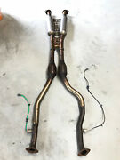2014 Lexus Is250 F Sport Exhaust Down Pipe Center Main With Sensors Oem