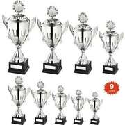 Superior Multisport Conical Bowl And Lid Trophy Cup Free Engraving 9 Sizes At34
