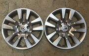Pair Of 2 53088 New Nissan Altima Hubcaps Wheel Cover 16 2013 14 15 Free Ship