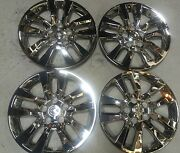 New 16 Chrome 53088 Hubcaps Wheelcover Set Of 4 2012 13 14 15 Nissan Altima