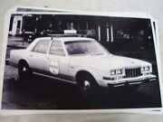 1981 Dodge Diplomat Police Car 11 X 17 Photo Picture