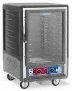 Metro C535-hfc-l-gy 1/2 Height Heated Holding Cabinet W/ Lip Load Pan Slides