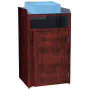 Lakeside 4410 26-1/2wx23-1/4dx45-1/2h 35 Gallon Waste Station