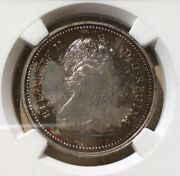 1971 Canada One Dollar Ngc Sp 66 - British Columbia - Toned Beautifully - Silver