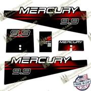 Mercury 1994-1998 Outboard Boat Engine Decals Multiple Hp 3m Marine Grade