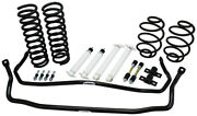 1968-72 Chevelle Stage 2 Suspension Kit - Coils Shocks Sway Bars 1.5 / 2 Drop