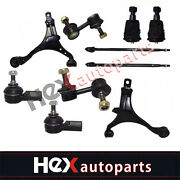10pc Front Control Arms Suspension Kit For 2002-2006 Honda Cr-v 2.4l 2wd 4x4