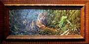 Craig Bone Limited Edition Tiger Signed And Numbered Giclee Canvas / Framed