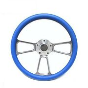 Kubota Tomberlin Golf Cart 14 Sky Blue Steering Wheel Includes Horn And Adapter