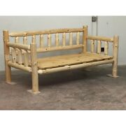 Rustic Log Daybed Log Furniture Rustic Decor Cabin Or Home Day Bed