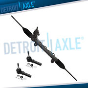 Power Steering Rack And Pinion + Tie Rods For Chevy Impala Buick Regal Pontiac