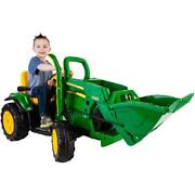 Kids Ride On Toy John Deere Ground Loader 12 Volt Battery Powered Riding Toys