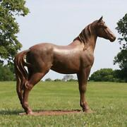 Large Horse Outdoor Garden Statue Sculpture By Orlandi Statuary Lawn Yard Decor