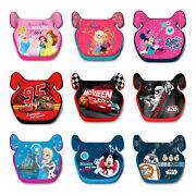 Childs Car Booster Seat Group 2/3 15-36 Kgs Disney Cars Mickey Frozen Princess