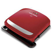 George Foreman Grill Removable Plate Drip Tray Dishwasher Safe Floating Hinge
